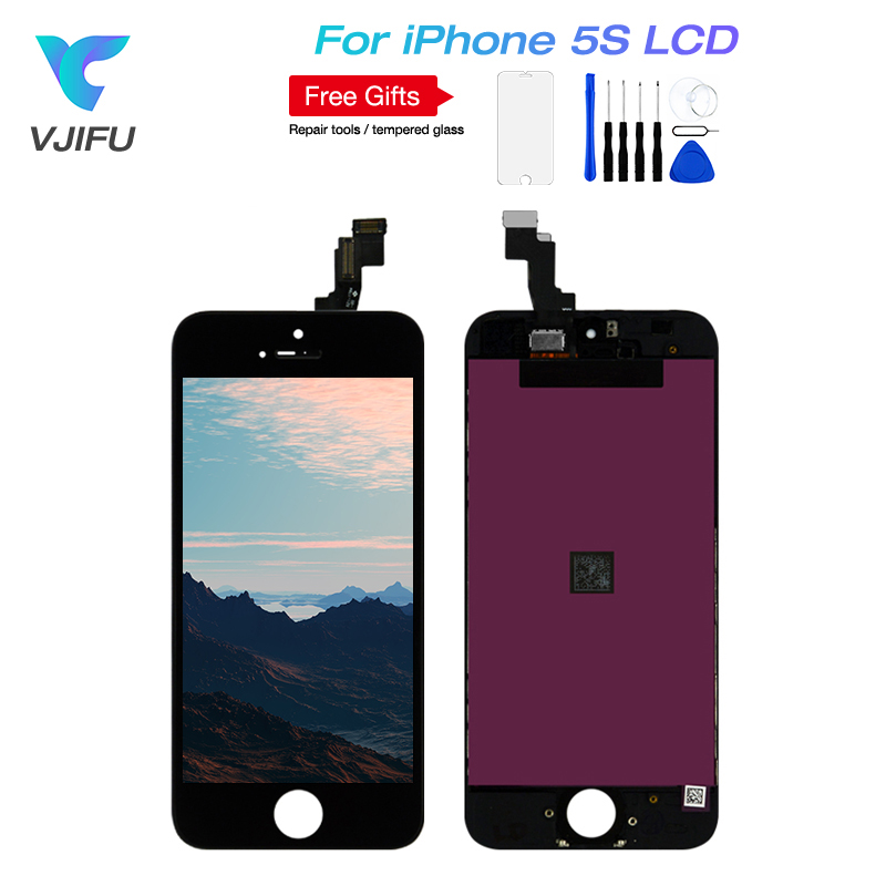 1PCS Lot AAA Quality LCD Screen For iPhone 5S SE LCD Screen Display Digitizer Replacement SE