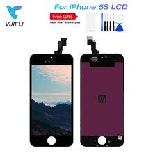 1 шт./лот AAA качественный ЖК-экран для iPhone 5S, SE ЖК-экран дисплей Digitizer Замена SE сенсорный экран для iPhone 5S ЖК-дисплей