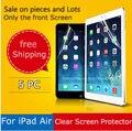 5 Шт./упак. хорошее качество защитная для apple ipad воздуха 1 2 ясный протектор экрана для ipad воздуха пленка коробка пакет и проверить в интернете