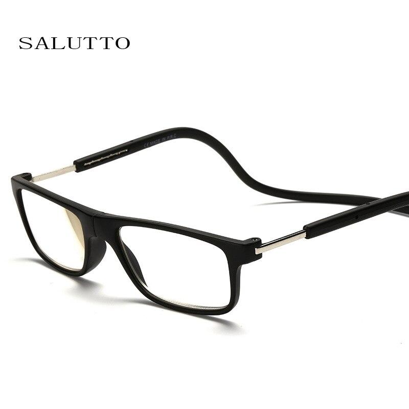 newest unisex presbyopia glasses folded hanging