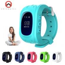 Reloj inteligente Q50 para niños, reloj de pulsera antipérdida con pantalla OLED, GPS, WIFI, alarma de SOS, con conversación bidireccional, IOS y Android