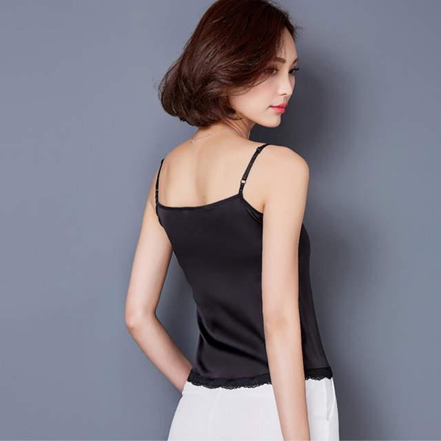 ebe3d64534ce Online Shop Crop Top Clothes Canotta Donna Estiva Tropical womens tank tops  2017 Silk Women Shirt Camis Sleeveless Blusa Summer Feminina