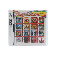488 In 1 Compilations Video Game Cartridge Card For DS Game Console Super Combo Multi Cart