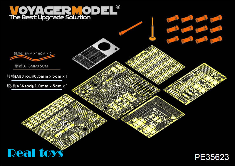 Voyager MODEL 1/35 PE35623 Modern Russian T-90 MBT basic (smoke discharger include) (For TRUMPETER 05560) voyager model 1 35 scale military models pe35598 modern jgsdf type10 mbt for tamiya 35329 plastic model kit