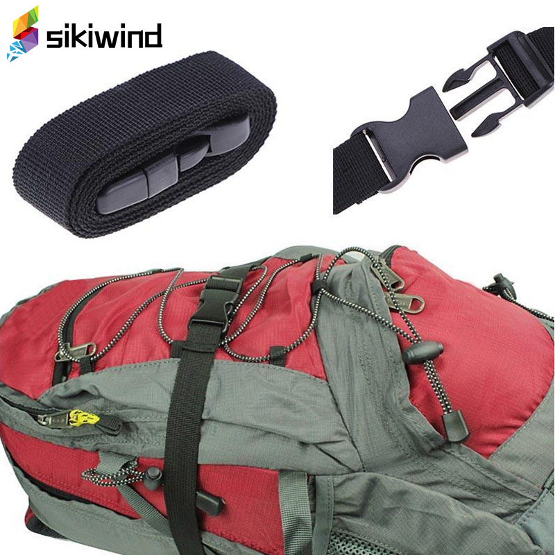 Travel Luggage Suitcase Bag Tent Bind Belt Baggage Package Pack Band Strap camp hike backpack mountaineer outdoor Multi ToolsZ80