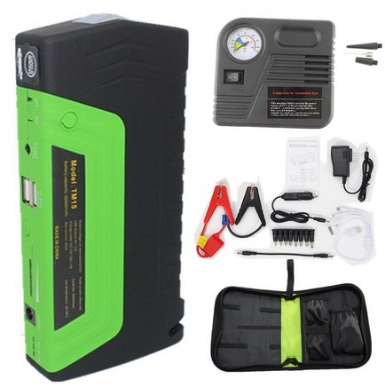Car power bank car jump starter New Arrival Car Jump Starter Mobile Car Emergency Battery Charger Multi-function Power Bank кухонная мойка mixline ml gm18 49х64 графит 342 4620031445661