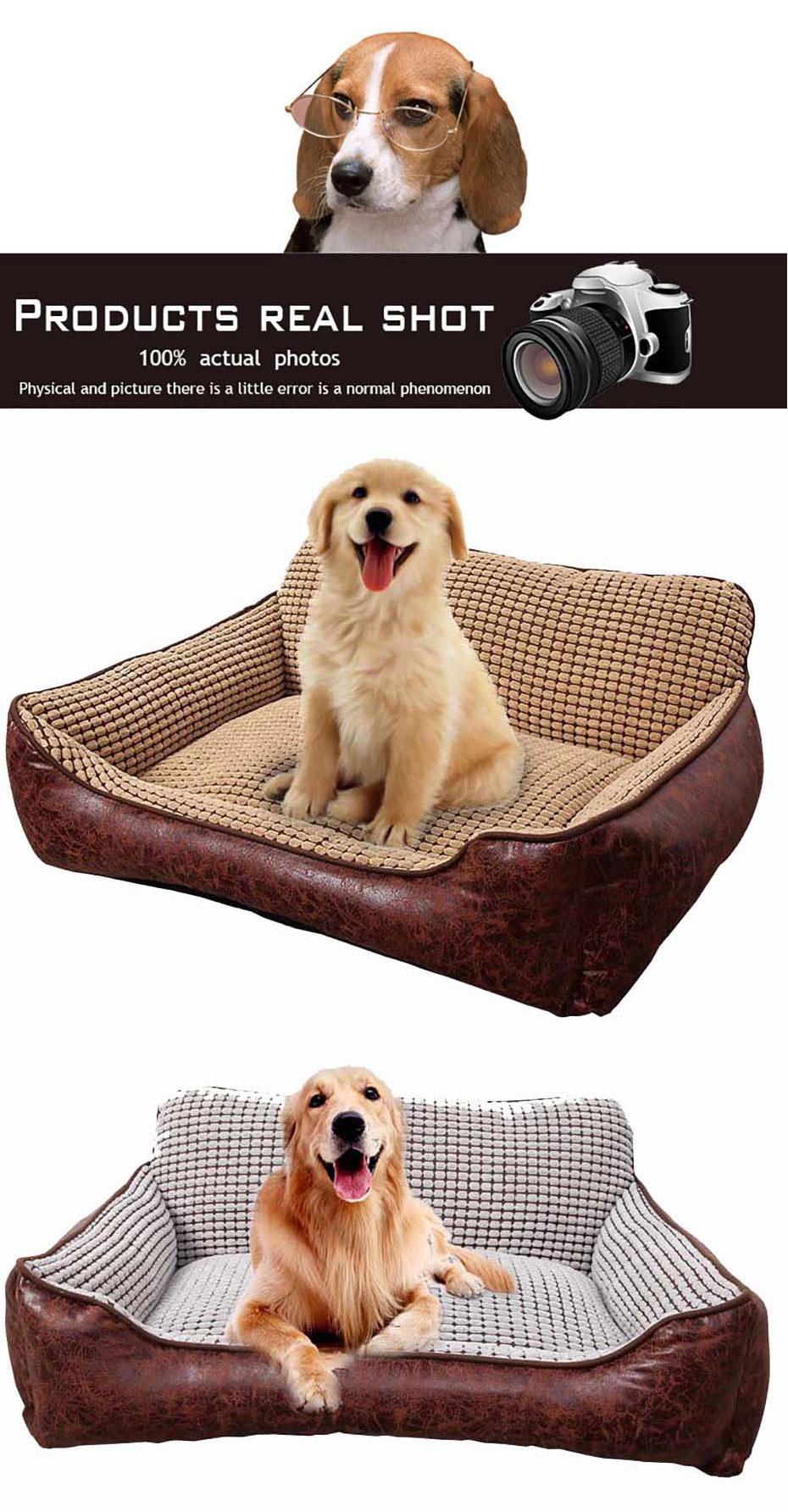 Golden Retriever Puppy Dog and Blanket Black Leather Keychain