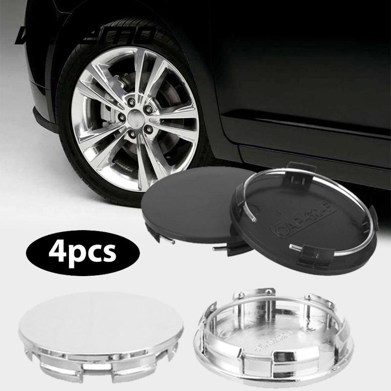 Constructive Vehemo Car Wheel Cover Hub Cap 4pcs No Logo Car Accessories Wheel Center Cap 60/54mm Silvery White Stylish Premium To Produce An Effect Toward Clear Vision