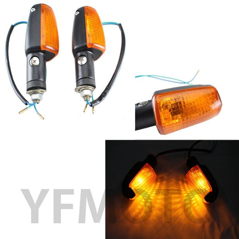 Hot Sales Motorcycle Turn Signal Indicator Light Amber For Hon da 600 250 CB400 VTR250 CB1300 x-4