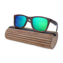 Women Wayfarer Wooden Sunglasses