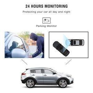 Image 3 - AUTMOR Car Dvr Mirror 4.3Inch Touch Screen FHD 1080P Car Rear View Mirror Camera Dual Lens Dash Cam Parking Monitor Black Box