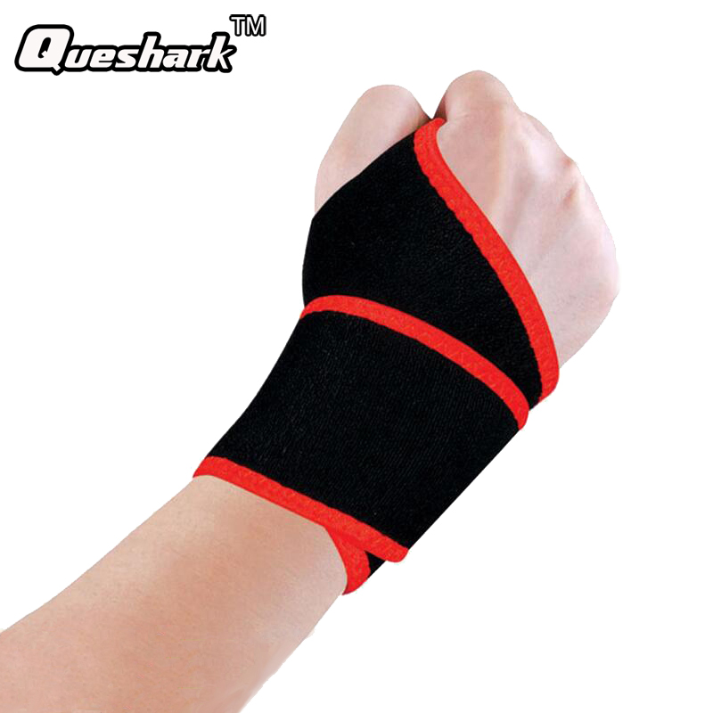 1Pc Sport Wristband Wrist Support Weight Lifting Gym Training Wrist Support Brace Strap Wraps Crossfit Powerlifting Bodybuilding