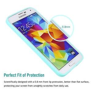 Image 4 - Funda de silicona suave TPU Color caramelo para Samsung Galaxy S5 S 5 SV i9600 G900F S5 Neo SM G903F G903 S5 Duos G9006 G9006V, funda, Capa