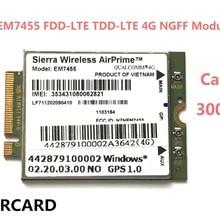EM7455 FDD/TDD LTE Cat6 4G модуль 4G карта для ноутбука