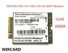 EM7455 FDD/TDD LTE Cat6 4G módulo 4G tarjeta para ordenador portátilMódems 3G