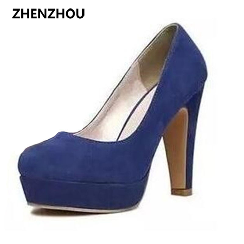 Free shipping  2016 autumn Women's shoes Pumps Single shoes  princess shoes round head thick with waterproof suede high heels siketu 2017 free shipping spring and autumn women shoes fashion sex high heels shoes red wedding shoes pumps g107
