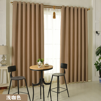 design of curtains for living rooms solid color linen fluid finished products living room 26705
