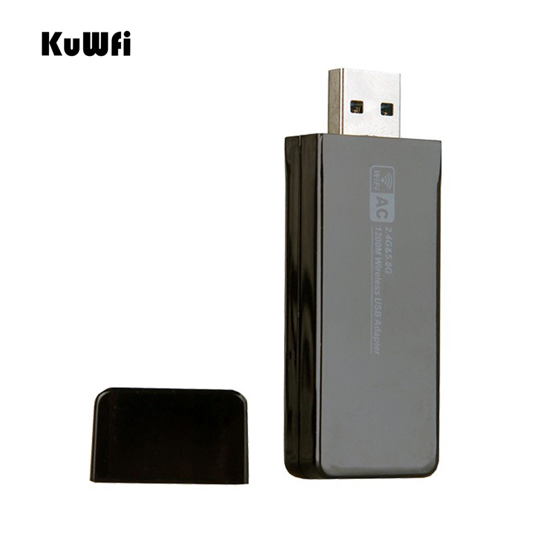 Image 5 - 11AC 1200Mbps USB3.0 Wireless Adapter 2.4G/5.8G Dual Band USB Wifi Receiver 2T2R Antenna AP Wireless Network Card for Desktop-in Network Cards from Computer & Office