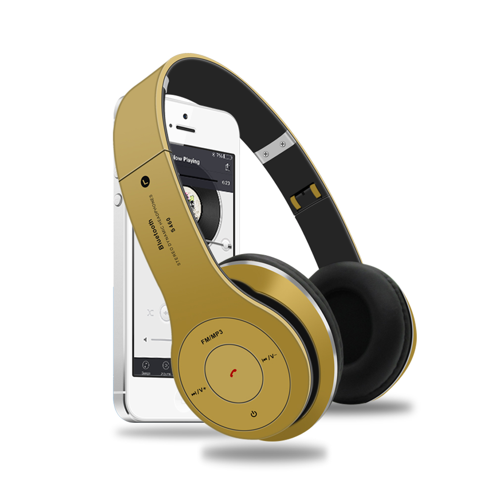 Bluetooth Wireless Headphones with Mic Stereo Bass Bluetooth earphone Music Headset Support TF Card FM Radio for Mobile Phone PC wireless headphones bluetooth headset 4 in 1 earphone earbuds with mic micro sd tf fm radio for iphone 7 6s ipad android device