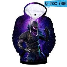 Z&Y 3d Print Hoodie XXXTentacion Clothes Casual Sweatshirt Girl Trainingspakken Cartoon Blouse Full Colored Pullover Dropship