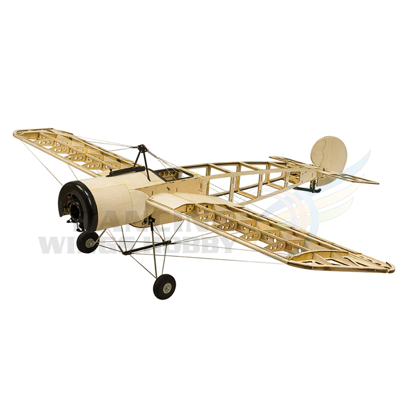 1.2M Fokker E RC Airplane Balsawood Plane Laser Cut Unassembled Wood Plane EP Power Outdoor RC Plane Scale Aeromodelling