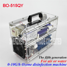 4pcs BO-515QY Ozone generator 5 g/h gram generatore di ozono AC220V/AC110V Regolabile ozono terapia macchina  80W