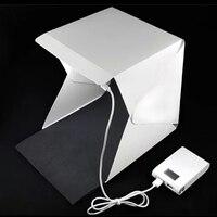 New Arrival Personal Portable Photography Studio Mini Foldable Softbox With USB LED Light High Lighting Desktop