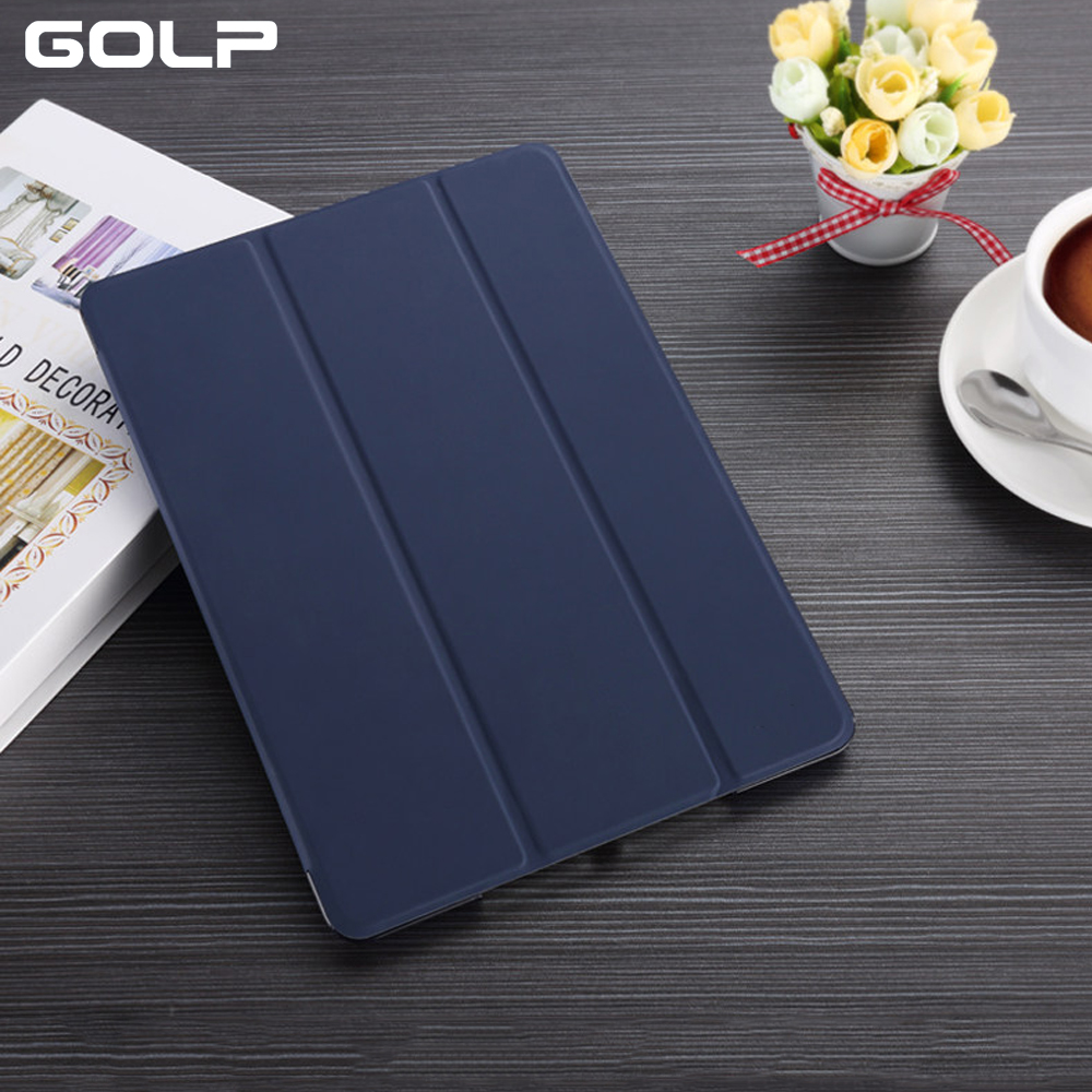 For iPad air case, PU Leather Flip Stand case For ipad air cover, PC back smart cover for iPad air 1 case For A1474 A1475 A1476 flip left and right stand pu leather case cover for blu vivo air