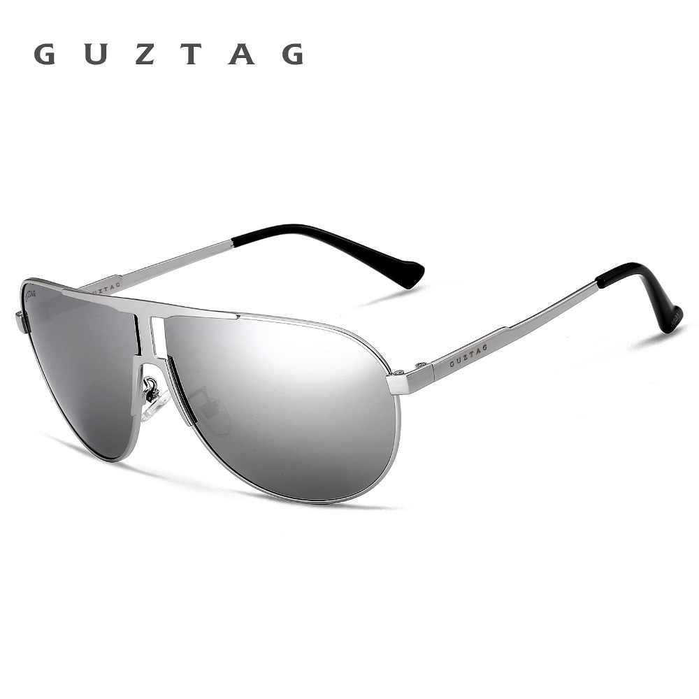 5b8fe8e867 ... GUZTAG Marca Moda Clásico gafas de Sol Polarizadas de Los Hombres  Diseñador HD Integrado Goggle Gafas ...