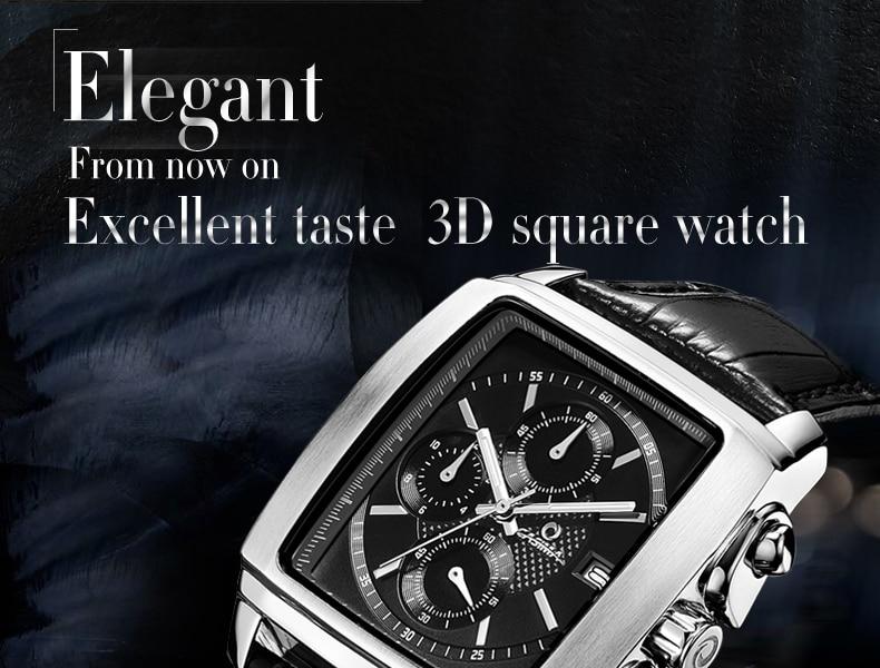 marca superior luxo famoso relógio de pulso