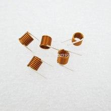 50PCS/LOT 3.5*7.5T*0.7 Inductors FM Coil Inductor Hollow Coil Inductance Copper Wire