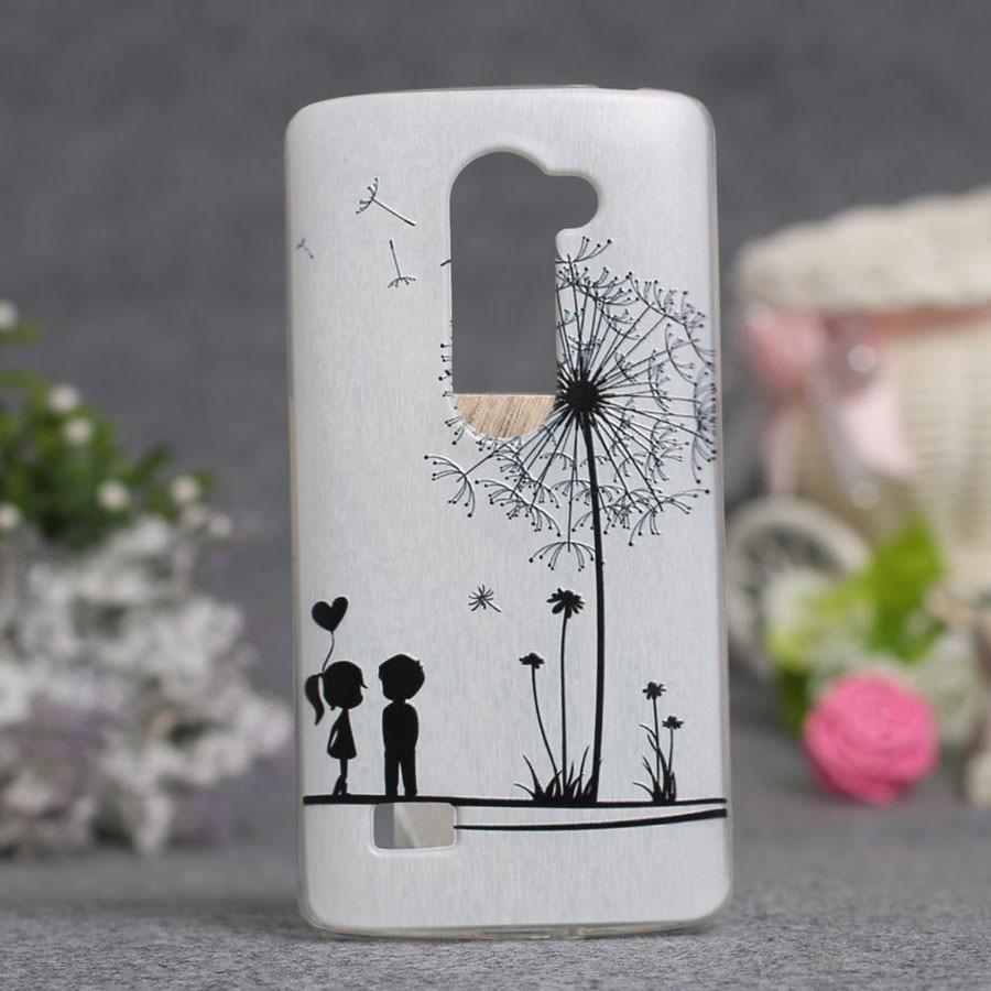 Luxus 3D-Stil Cartoon Blume Rückseite Soft TPU Fall für LG LEON 4G - Handy-Zubehör und Ersatzteile - Foto 5
