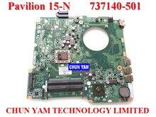 NEW 737140-501 FOR HP PAVILION 15-N laptop motherboard DA0U92MB6D0 REV:D A8-4555M mainboard 90Days Warranty 100% tested