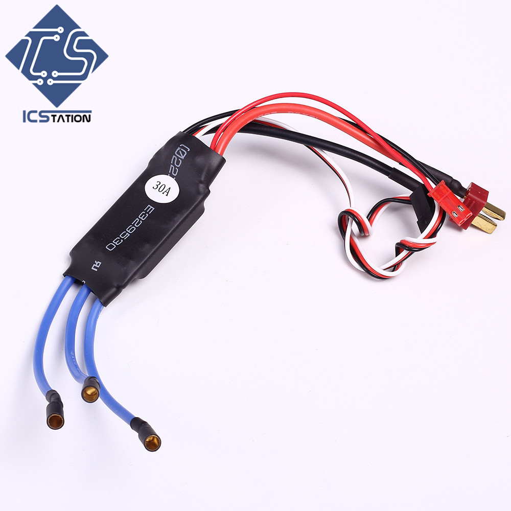 30A Brushless Speed Controller ESC for Multirotor Multicopter Airplane Helicopter for Model aircraft KT Board Aircraft Su 27 F-1