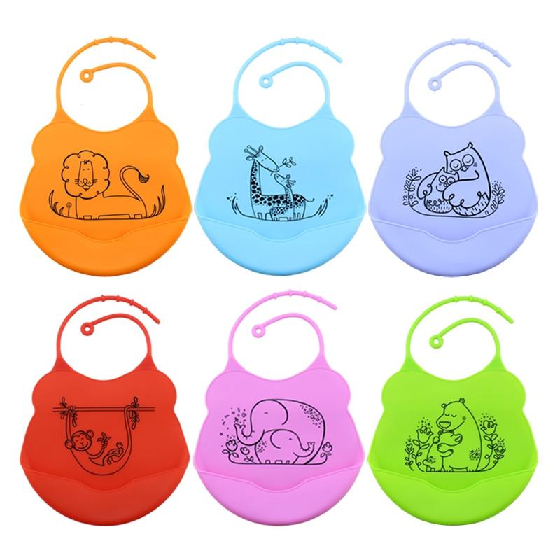 Baberos para bebés Silicona Desechable Impermeable Estéreo para - Ropa de bebé - foto 1