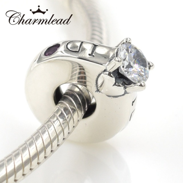 14e79dc0f599b US $15.75 10% OFF|Charmlead I Love Wife Charm Fits Pandora Charms Bracelet  Original 925 Sterling Silver Love Ring Design Beads DIY Silver Jewelry-in  ...