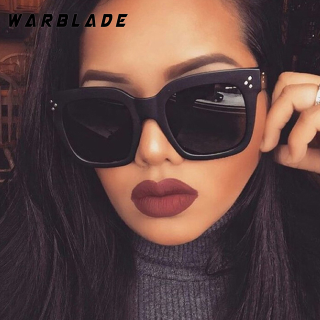 2d3bceefba8 2018 Luxury Italian Brand Sunglasses Women Crystal Square Sunglasses Mirror  Retro Full Star Sun Glasses Female Black Grey Shades