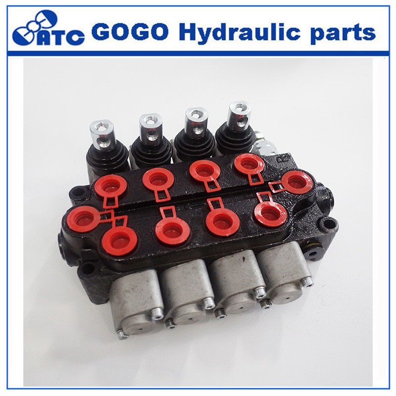 ZT L12 hydraulic monoblock multiple directional control tractor valve used in hydraulic system of tractors and