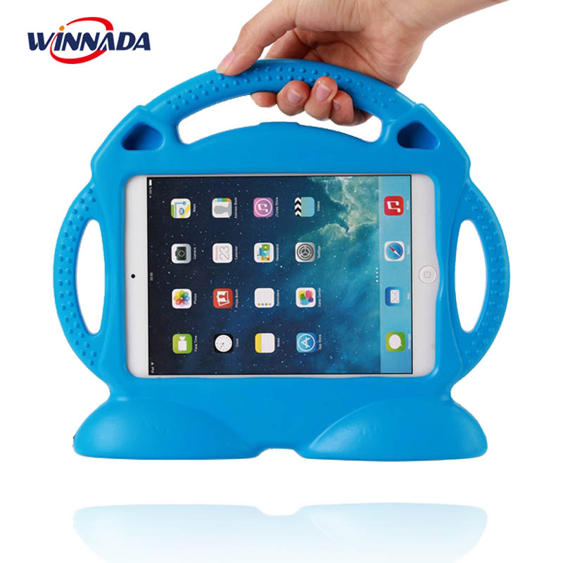 Case For IPad 2 3 4 Non-toxic EVA Handgrip Stand Shock Proof EVA Full Body Cover Kids Children Safe Silicone Para Shell Coque