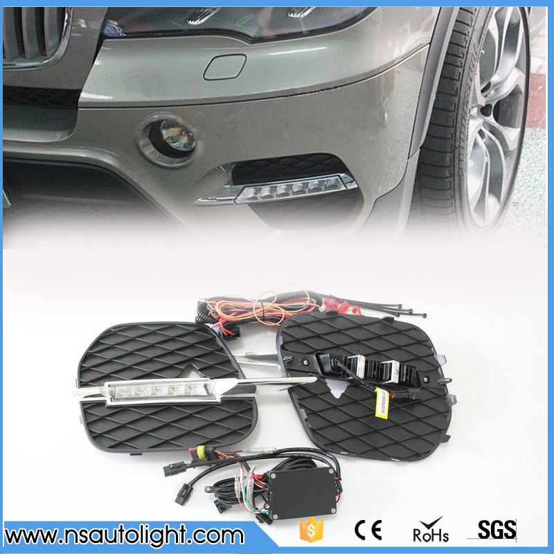 High Power LED Daytime Running Lights DRL Kit for 2011-13 LCI BMW E70 X5