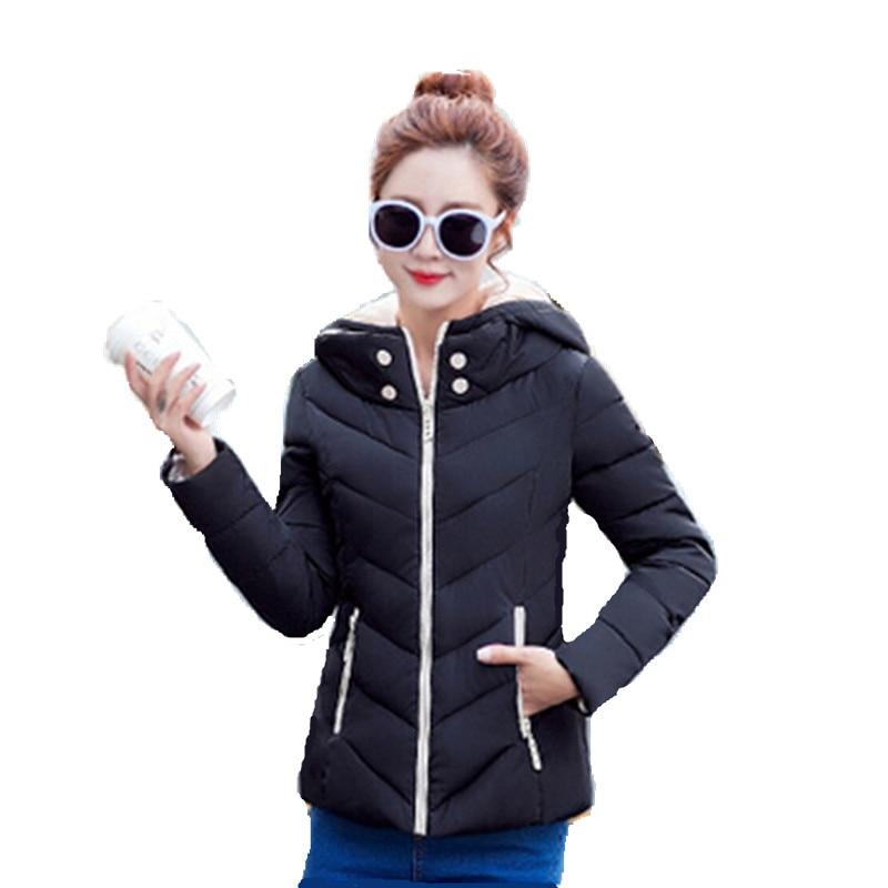 2016 New Fashion Warm Winter Coat Women Down winter Parkas Light Thick Winter Hooded Jacket Female