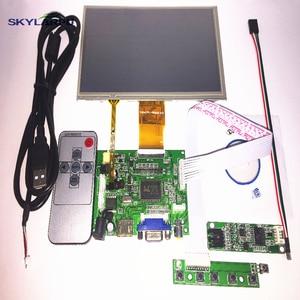 "7"" inch LCD Panel Digital LCD Screen + Touch screen and Drive Board (HDMI+VGA+2AV) for Raspberry PI Pcduino Cubieboard 1024*600(China)"