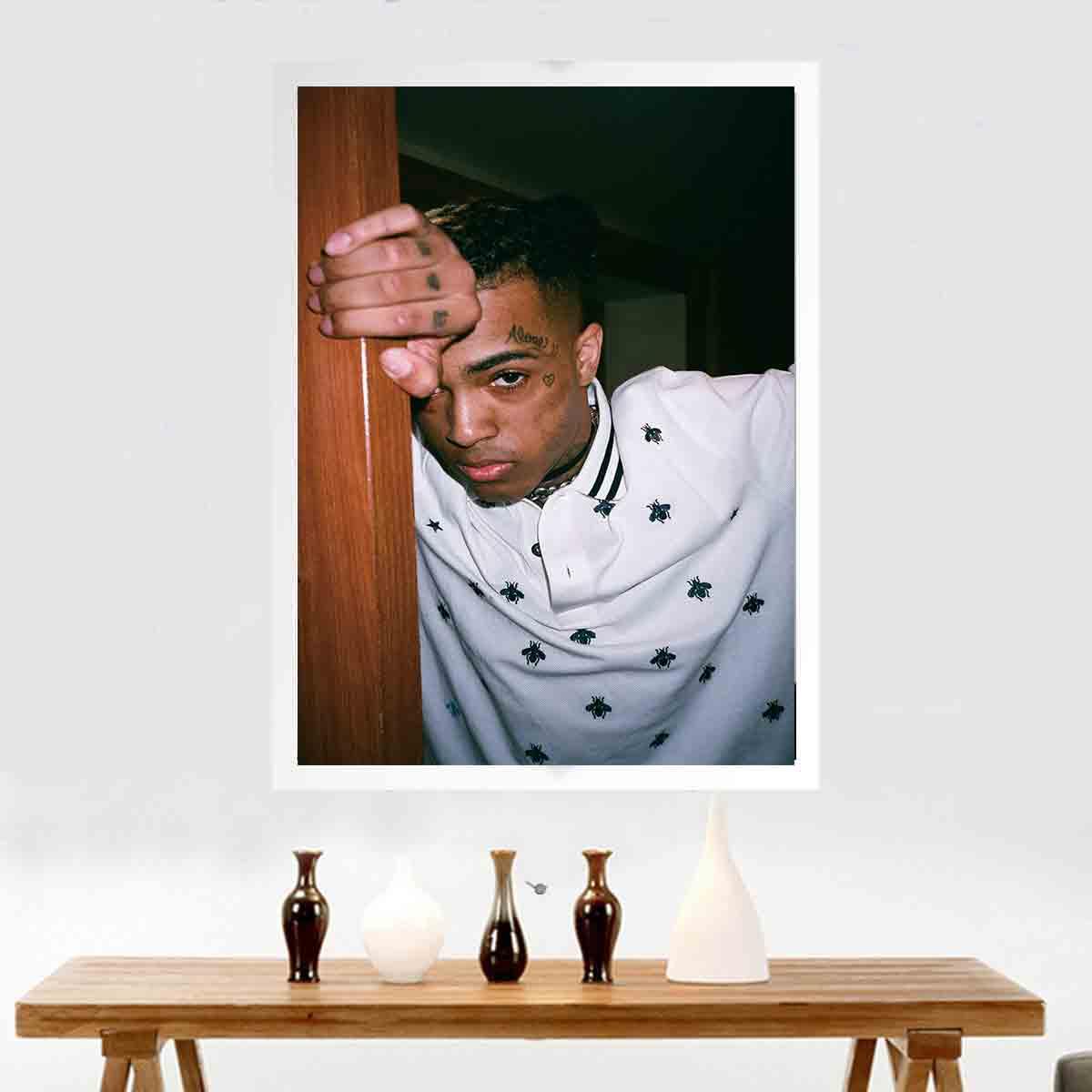 New Art Poster Decoration Picture Print Music Singer XXXTentacion Rapper Hip Hop Wall Decor Canvas Painting27x40 12x18 24x36in