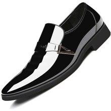 1f6351720d2 Tamanho 38 ~ 48 tendência homens sapatos formais sapatos de couro homens  marca tomada de fábrica