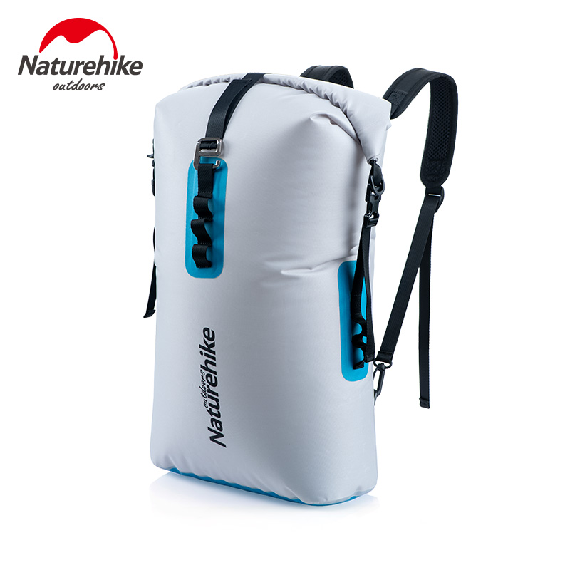 Naturehike 28L 420D TPU Dry Wet Separation Trekking Drifting Seal Rafting Bag Double Straps Dry Swimming