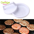 1 Set DIY Hamburger Meat Press Tool Patty Makers Meat Burger Maker Mold Food-Grade Plastic Hamburger Press Burger Maker Barbecue