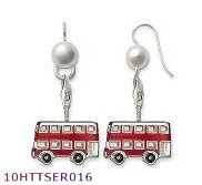 Wholesale  earring London double deck Bus style ,925 silver jewelry,925 Sterling Silver Earrings wholesale jewelry