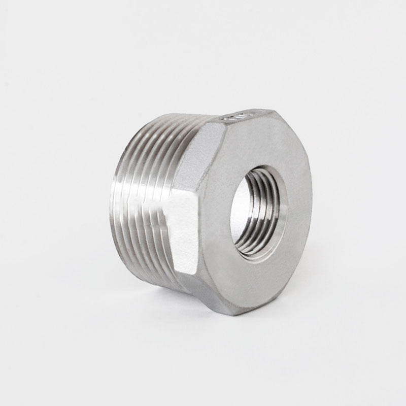 1-12 BSP Male x 12 BSP Female Reducer Bushing Thread 201 Stainless Steel Threaded Pipe Fitting Connector For Water Oil Air