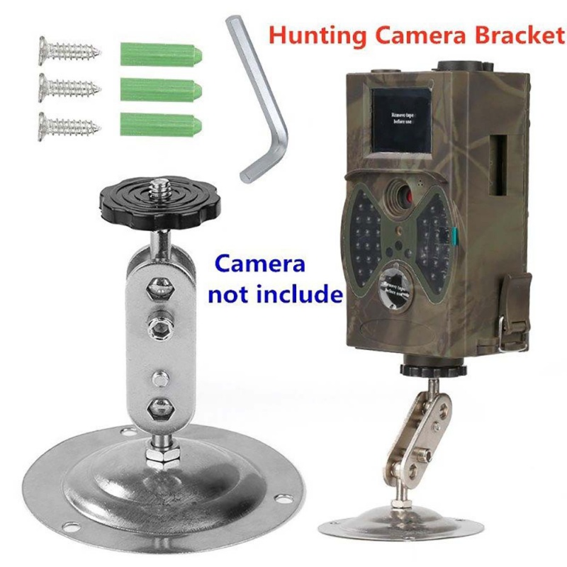 Hunting Trail Camera Bracket Holder Stand Universal For Monitor Video Cam Mount Outdoor Gadget Adjustable Rotatable