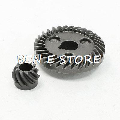 Electric Power Tool Spiral Bevel Gear Set for Hitachi 100 Angle Grinder metal spiral bevel gear set for bosch gws 6 100 angle grinder